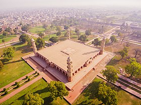 Aerial view of Jahangir Tomb.jpg