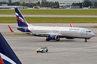VQ-BWD - B738 - Aeroflot