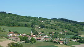 A general view of Affoux