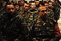 Afghan National Army (ANA) soldiers listen to Gen. Bismillah Mohammadi during an ANA award ceremony (4251496390).jpg