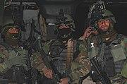 Afghan National Army 201st Commando Kandak in Feb 2008