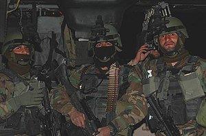 Battle of Shok Valley - Members of the Afghan 201st Commando Kanak, two months before the battle