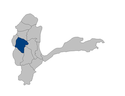 Location of Fayzabad فیض آباد