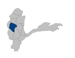Fayzabad District highlighted within Badakhshan Province, which Argo District split from