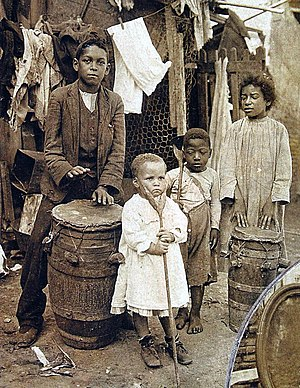 Afro-Argentines - Afro-Argentine family of Buenos Aires, 1908.