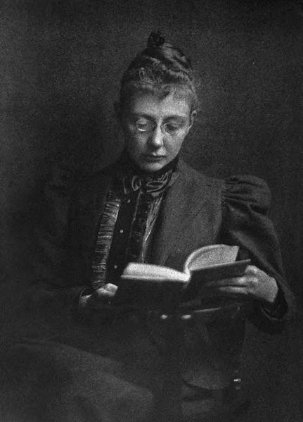 File:Agnes Repplier Reading.jpg
