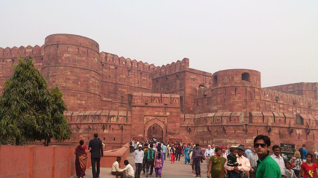 Agra Fort Entrance Gate