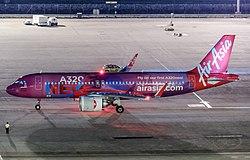 Airbus A320neo der AirAsia