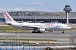 Air Europa, Airbus A330-202, EC-KTG - MAD (22340672064).jpg