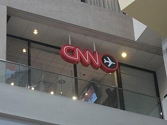 CNN Airport - CNN Airport Network control room at the CNN Center in Atlanta, Georgia.