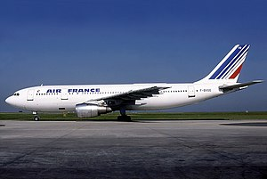 Operation Entebbe - The Air France Airbus A300 involved at Charles de Gaulle Airport in 1980