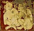 Ajanta Cave 1 ceiling couple.jpg