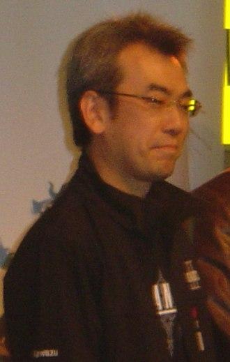 Akitoshi Kawazu - Kawazu at the Final Fantasy XII London HMV Launch Party in 2007