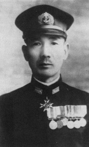 Monzo Akiyama - Rear-Admiral Akiyama