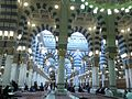 Al-Masjid Al-Nabawi from inside.jpg