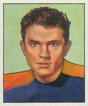 Al Baldwin - Baldwin on a 1950 Bowman football card
