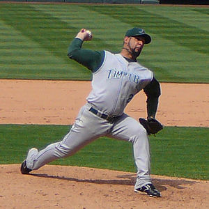 Al Reyes - Reyes with the Tampa Bay Devil Rays
