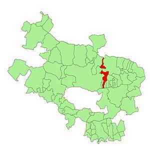 Añua - Image: Alava municipalities Elburgo