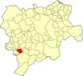 Albacete Riópar Mapa municipal.png