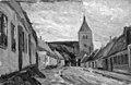 Albert Gottschalk - Gade i Stege - KMS7183 - Statens Museum for Kunst.jpg