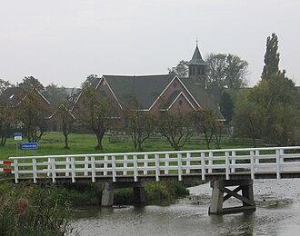 Alblasserdam - Church in Alblasserdam