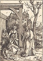 Albrecht Dürer, Christ Taking Leave from His Mother, c. 1504-1505, NGA 6709.jpg