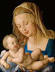 Albrecht Dürer: Mary and Child