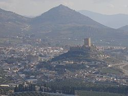 Skyline of Alcaudete