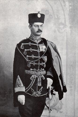 Vojvoda (Serbia and Yugoslavia) - Image: Alejandro I De Serbia En 1900