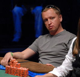 Kravtsjenko tijdens de World Series of Poker 2007