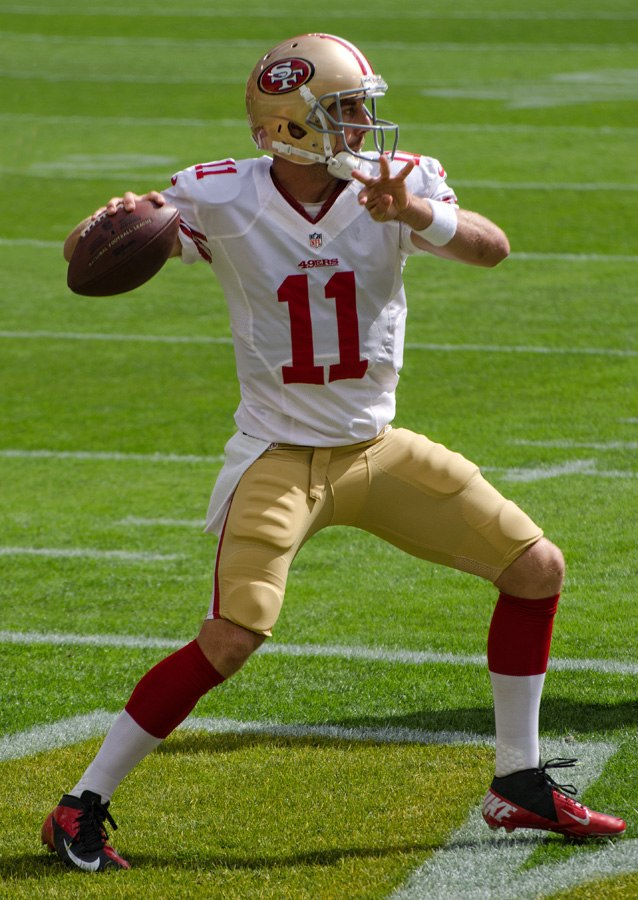 Alex Smith - San Francisco vs Green Bay 2012 (4)