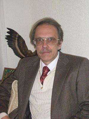 Alexander Balankin - Alexander Balankin in his Office (2008)
