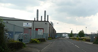 Alexander Dennis - The Alexander Dennis chassis factory in Guildford