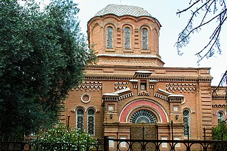 Ganja, Azerbaijan - Alexander Nevsky church in Ganja