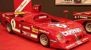 1975 World Sportscar Championship - Alfa Romeo won the 1975 World Championship for Makes with the Alfa Romeo 33TT12