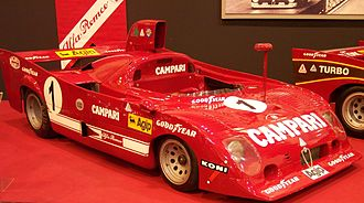 1975 World Sportscar Championship - Alfa Romeo won the 1975 World Championship for Makes with the Alfa Romeo 33TT12