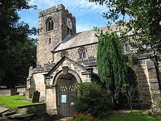 All Saints' Church, Otley - Image: All Saints Otley exterior 01 7 August 2017