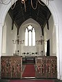 All Saints church - rood screen and chancel - geograph.org.uk - 1547774.jpg