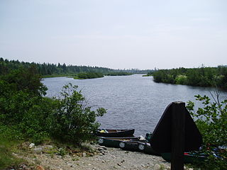 Allagash River river in northern Maine, United States
