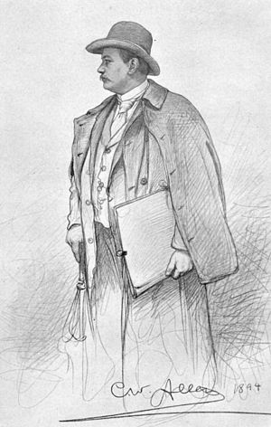 Christian Wilhelm Allers - Image: Allers 1894 Selbstportrait