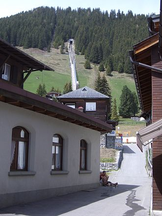 Allmendhubel - View from Mürren