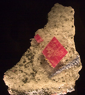 image illustrative de l'article Rhodochrosite