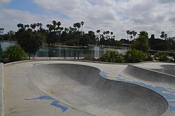 Alondra Skate Park opening in 2012.