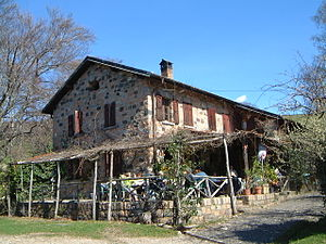 Vico Morcote - A house in Alpe Vicania, part of Vico Morcote
