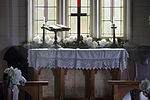 Altar in a classic old fashioned wedding chapel, Auckland - 0727.jpg