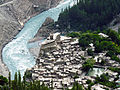 Altit Fort, Hunza river and old Altit town.jpg