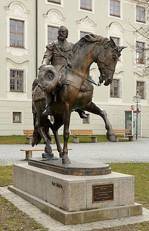 Johann Tserclaes, Count of Tilly - Statue of Tilly in Altötting