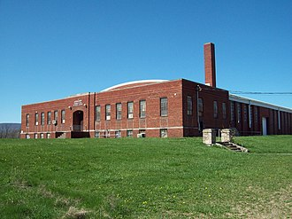 National Register of Historic Places listings in Blair County, Pennsylvania - Image: Altoona Armory Apr 12