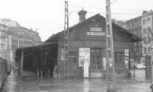 Resultado de imagen de Estación de Amara-Donostia bomba