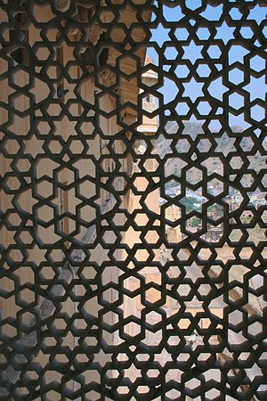 Latticework - Image: Amber Fort Screen (6652771501)